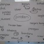 woordveld thema piraten