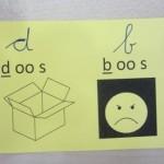 d en b voorbeeldkaartje