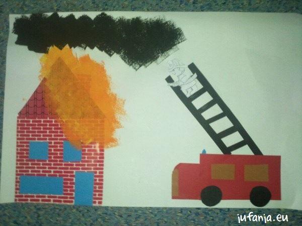 knutselen thema brandweer