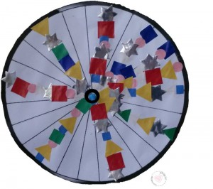 wiel van fiets knutselen; reeks maken