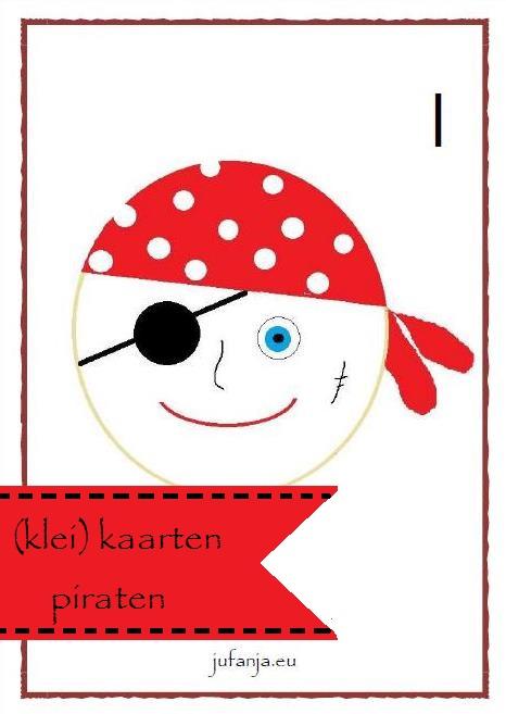 kleikaart piraat