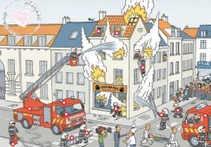 interactieve praatplaat brandweer
