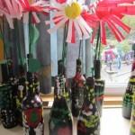 moederdag knutselen bloem in vaas