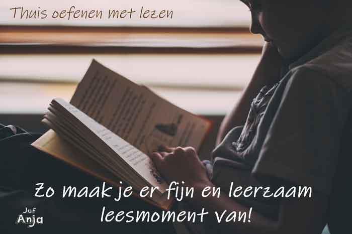 thuis oefenen met lezen