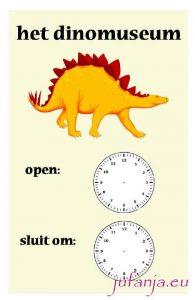 Poster dinomuseum