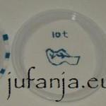 delfts blauwe bordjes knutselen