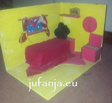 Bekijk mijn kamer juf anja - Scheiden een kamer door een gordijn ...