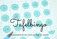 tafelbingo