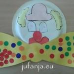 clown knutselen