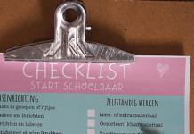 checklist klas inrichten