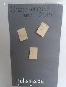 nieuwjaarswensenbord
