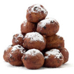 stapel oliebollen