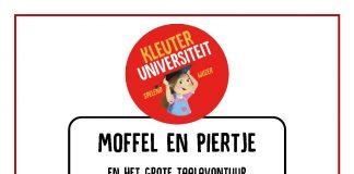 Kleuteruniversiteit project moffel en piertje en het grote taalavontuur