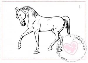 kleikaart paard van sinterklaas