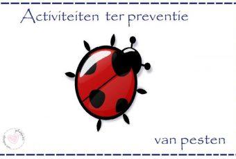 activiteiten ter preventie van pesten