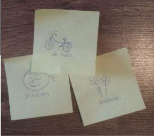 rol van kinderen bij themavoorbereiding