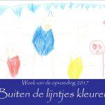 week van de opvoeding; buiten de lijntjes kleuren