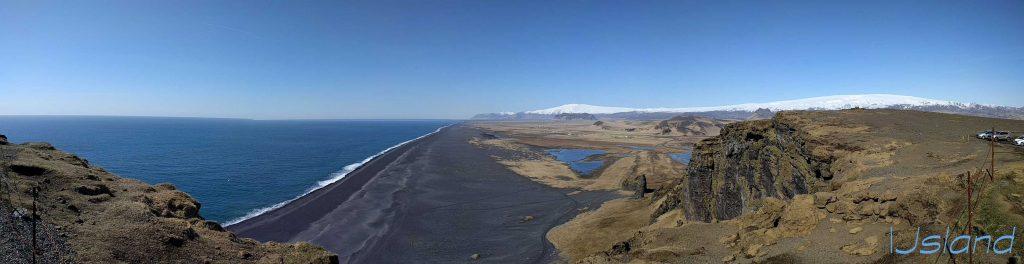 Black sand beach ijsland