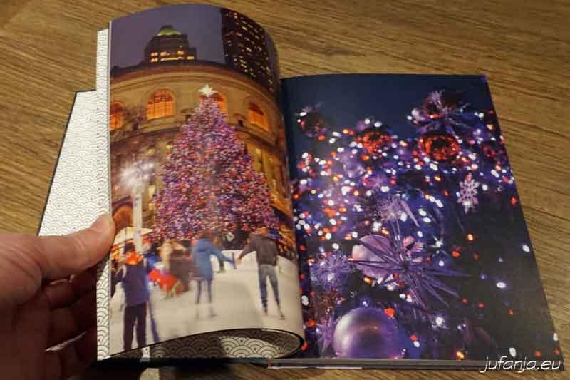 New york kerstbakboek sfeerbeelden