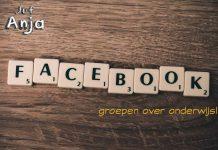 facebookgroepen over onderwijs