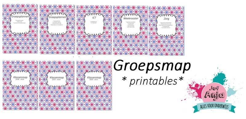 groepsmap printables