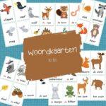 woordkaarten bos