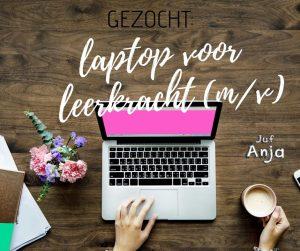 laptop kopen voor leerkracht
