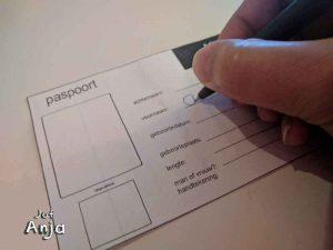 paspoort knutselen