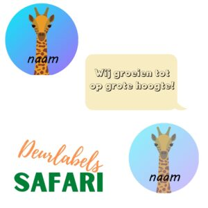 deurlabels safari