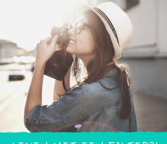 leven met een filter
