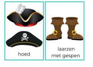woordkaarten project piraten