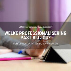 professionalisering onderwijs