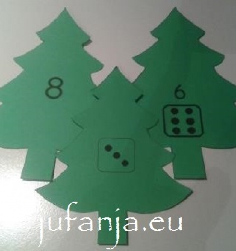Hang het juiste aantal kerstballen in de boom