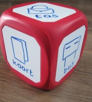 Magnetische en beschrijfbare dobbelsteen: de taalontwikkeling (1)