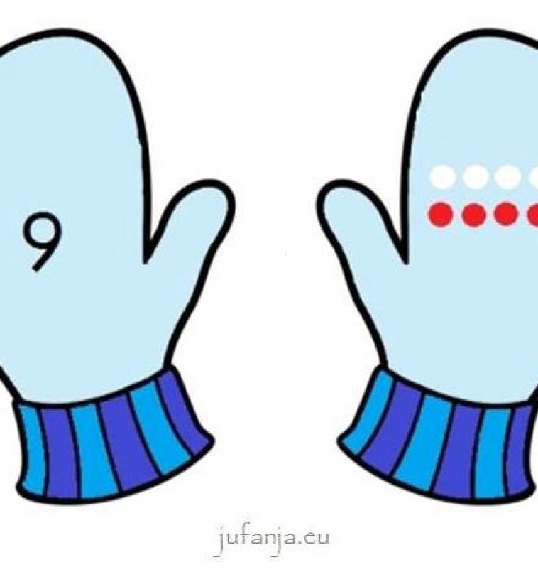 Beginnende gecijferdheid: Zoek mijn andere handschoenspel