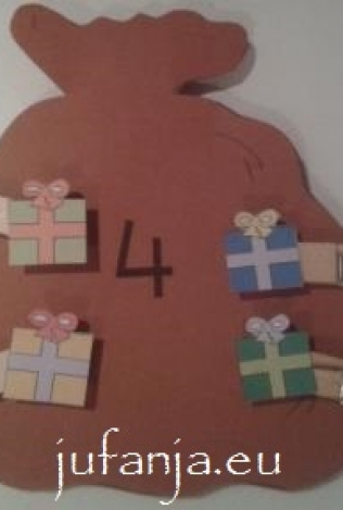 Beginnende gecijferdheid: Vul de zak van piet vol cadeautjes!