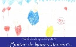 Week van de opvoeding: Buiten de lijntjes?!