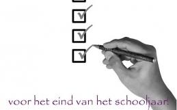 Help! Het eind van het schooljaar komt in zicht!