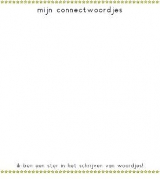 CONNECT schrijfbordje