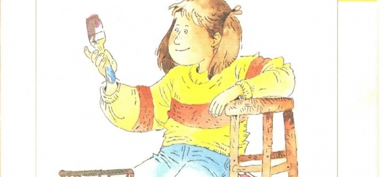 woordenschat: de verf voor de kruk