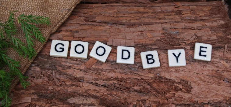 Afscheid nemen en toch genieten van het moment