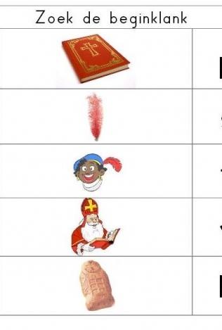 Sinterklaas knijpkaarten