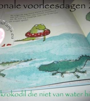 Nationale voorleesdagen2016: de krokodil die niet van water hield
