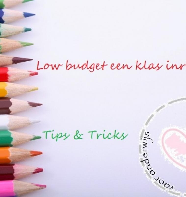 Low-budget een klas inrichten
