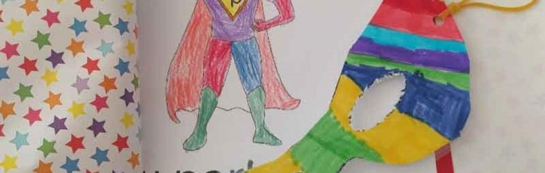 Superheldencadeau voor papa
