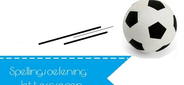 Oefenen met het maken van lettergrepen