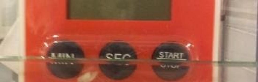 het gebruik van een stopwatch in de middenbouw