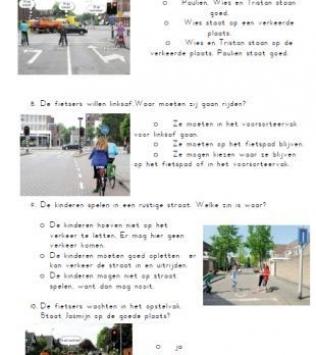 Wegwijs:  toets verkeersregels (2)