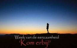 Kom erbij!  -Week van de eenzaamheid 2017-