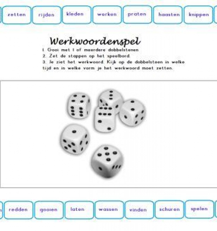 Spel: werkwoordspelling